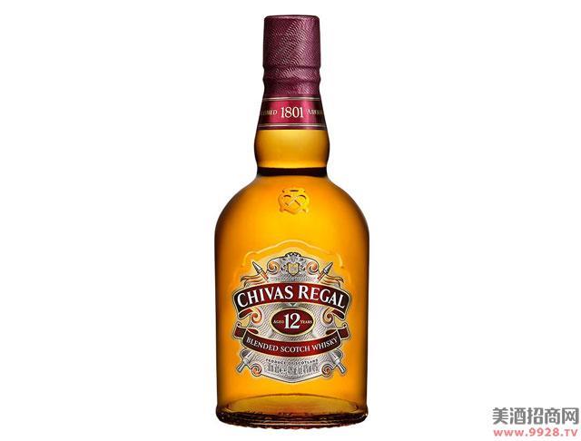 芝华士酒12年苏格兰威士忌500ml