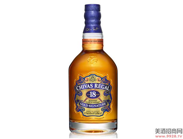 芝华士酒18年苏格兰威士忌700ml