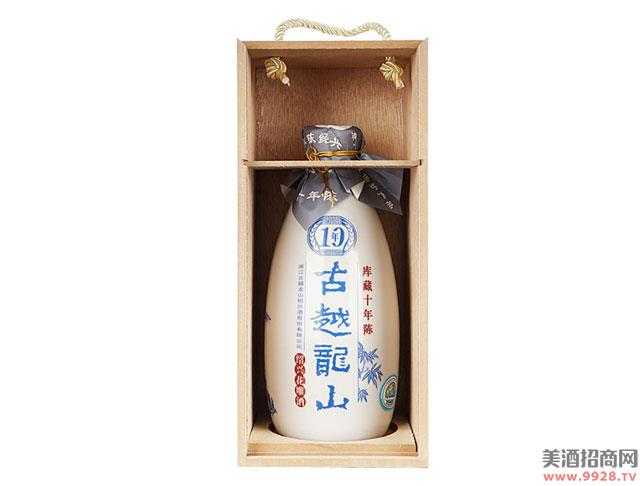 绍兴黄酒古越龙山半干花雕酒500ml