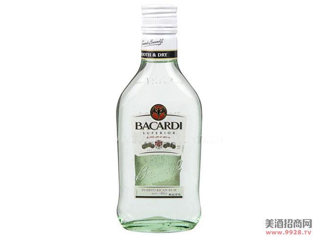 百加得白朗姆酒200ml