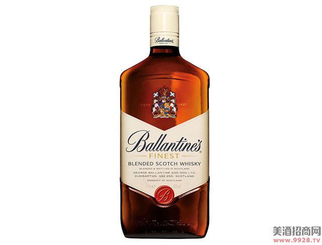 百龄坛酒特醇苏格兰威士忌1000ml