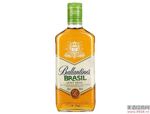 百龄坛酒巴西青柠威士忌风味配制酒700ml
