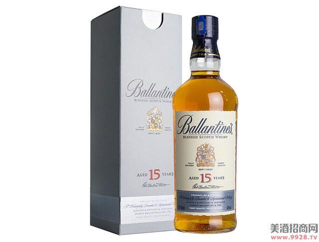 百龄坛酒15年苏格兰威士忌700ml