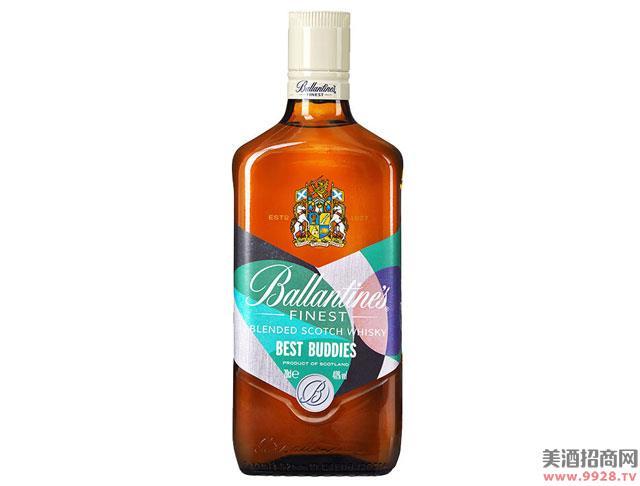 百龄坛酒特醇苏格兰威士忌友情万岁限量版700ml