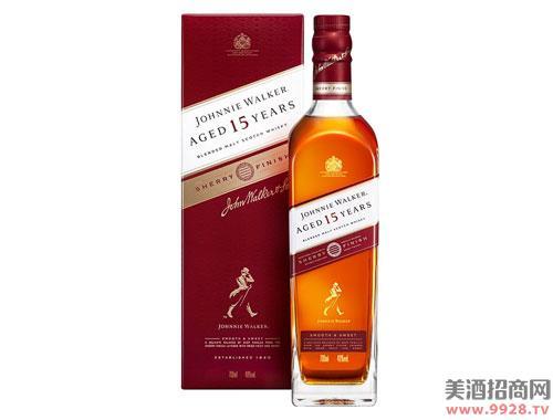 尊尼获加酒15年威士忌雪莉版700ml
