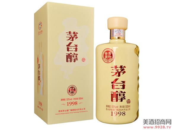 柔和酱香茅台醇(1998)酒