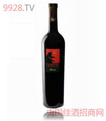黑熊火西拉葡萄酒