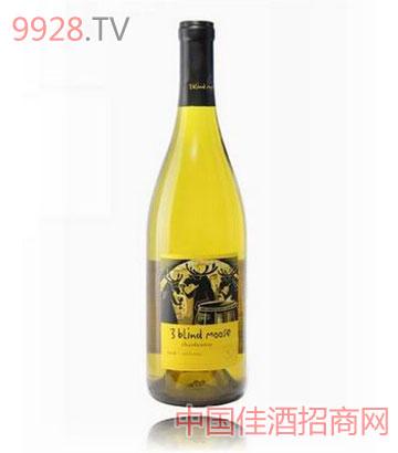 三只麋鹿干白葡萄酒
