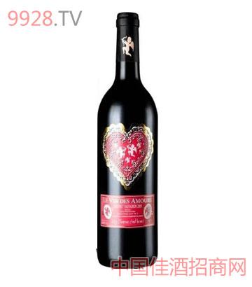 爱神之水赤霞珠干红葡萄酒