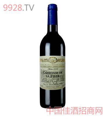 卡露斯梅乐干红葡萄酒