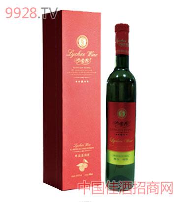 冷金香喜福荔枝酒500ml