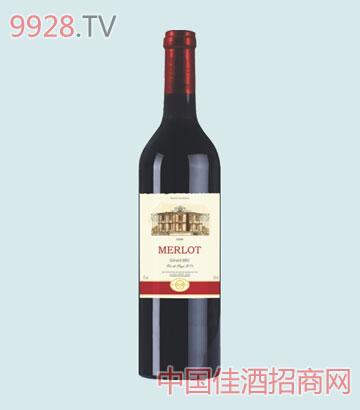 羊头巴卢世家美露干红葡萄酒