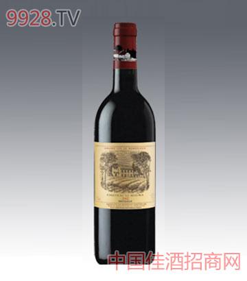 拉斐勒蒙拉城堡干红葡萄酒