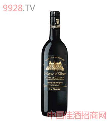 玛尼城堡红葡萄酒1996年