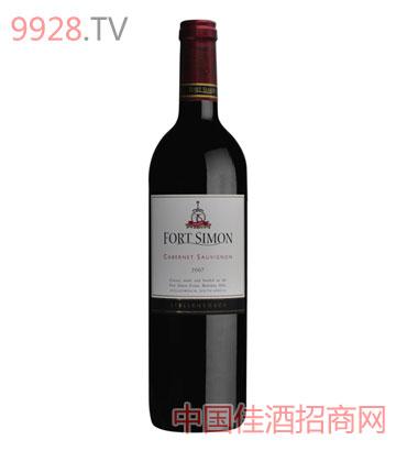 西蒙堡赤霞珠干红葡萄酒