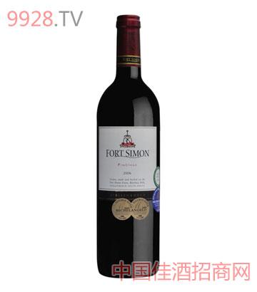 西蒙堡皮诺塔吉干红葡萄酒