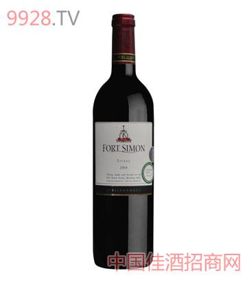 西蒙堡西拉干红葡萄酒