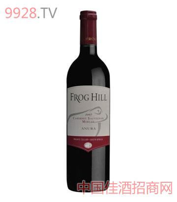 青蛙山赤霞珠梅洛干红葡萄酒