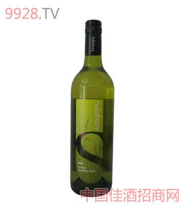 西柏丽白苏维翁葡萄酒