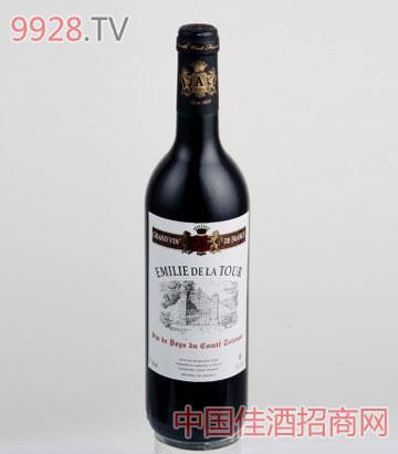 艾米丽干红葡萄酒VDP
