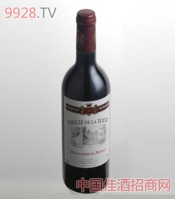 艾米丽干红葡萄酒VDT