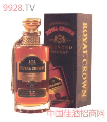 皇冠威士忌酒