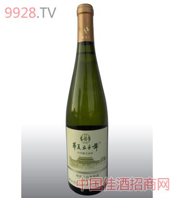 精酿干白葡萄酒
