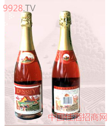 王朝桃红起泡葡萄酒