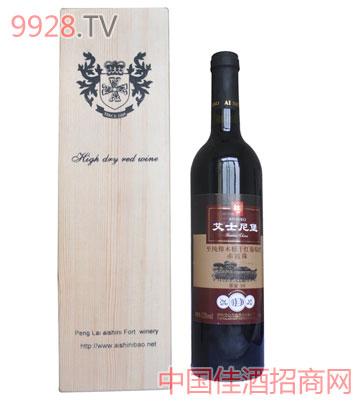 纯橡木桶干红葡萄酒赤霞珠
