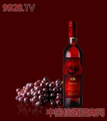 天籁玫瑰蜜干红葡萄酒