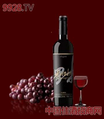 优雅风格葡萄酒