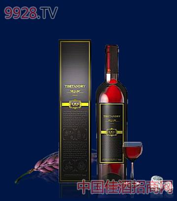 铂金青稞干红酒
