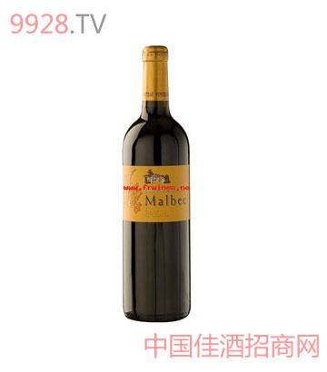 松树庄园马贝克干红葡萄酒