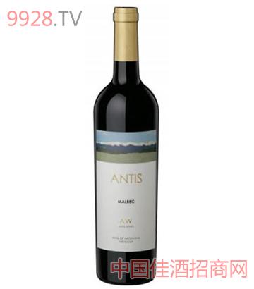 安第斯馬爾貝克紅葡萄酒