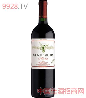 蒙特斯欧法梅洛干红葡萄酒