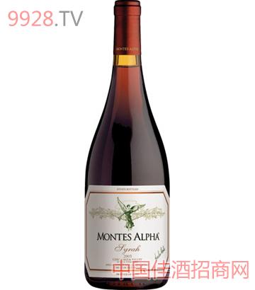 蒙特斯欧法西拉干红葡萄酒