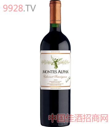 蒙特斯欧法赤霞珠干红葡萄酒