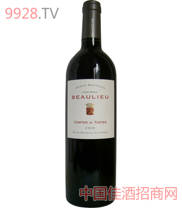 宝莱达古堡干红葡萄酒