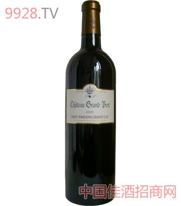圣达美隆格阑砵古堡特级干红葡萄酒