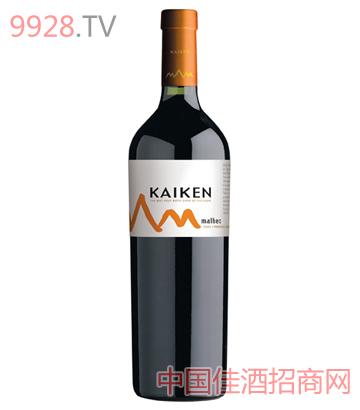 开肯珍藏玛尔贝干红葡萄酒
