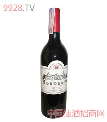 威望波尔多干红葡萄酒(Prestige)