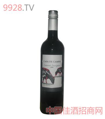 乡间小屋赤霞珠干红葡萄酒