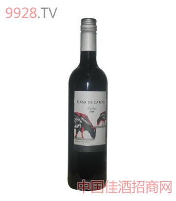 鄉間小屋馬爾貝克干紅葡萄酒