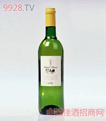 柔茜红查尔斯城堡(干白)葡萄酒