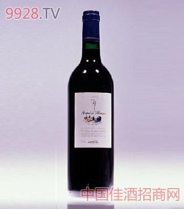 柔茜红查尔斯城堡(干红)葡萄酒