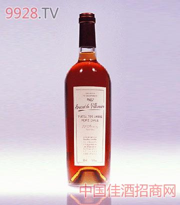 柔茜红琥珀1992葡萄酒