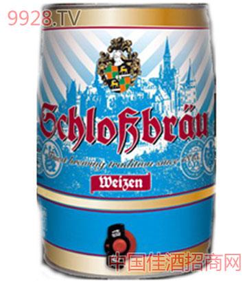 古堡-小麦啤酒-(5L)