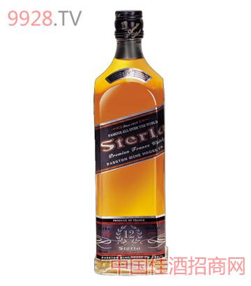 史特拉威12年威士忌酒