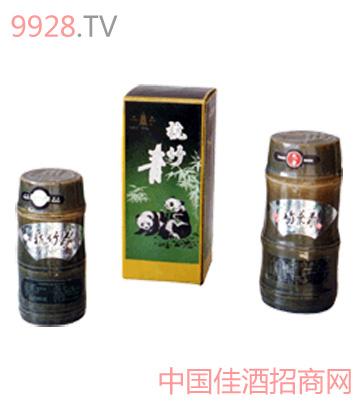 竹节瓶型竹叶青酒