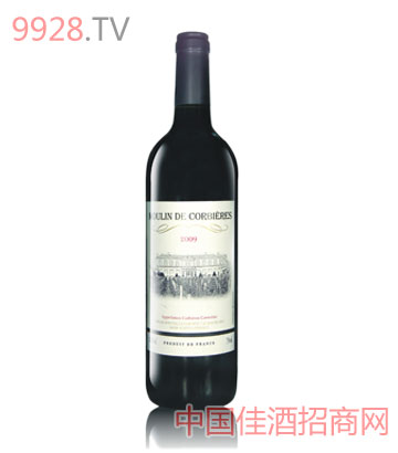 格皮尔风车干红葡萄酒